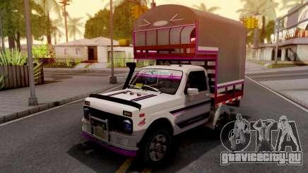 Lada Niva Con Estacas для GTA San Andreas