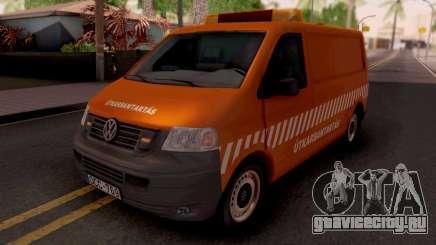 Volkswagen Transporter T5 Utkarbantartas для GTA San Andreas