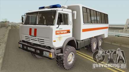 КамАЗ 43114 Росгвардия для GTA San Andreas