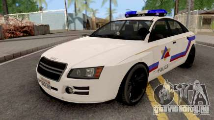 Obey Tailgater 2012 Hometown PD Style для GTA San Andreas