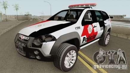 Fiat Palio Weekend 2017 (PMESP) для GTA San Andreas