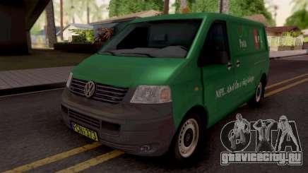 Volkswagen Transporter T5 Magyar Posta для GTA San Andreas