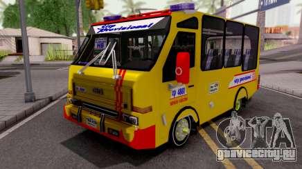 Daihatsu Delta Colectivo Colombiano для GTA San Andreas