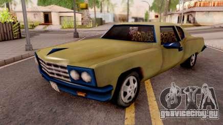 Yardie Lobo from GTA 3 Yellow для GTA San Andreas