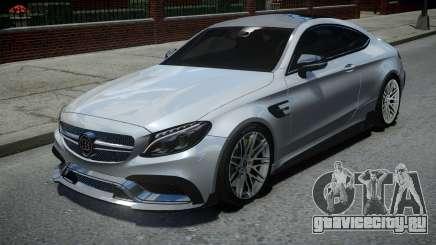 Mercedes-Benz C63 Brabus ENB Version для GTA 4