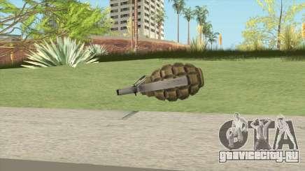 Grenades F1 для GTA San Andreas