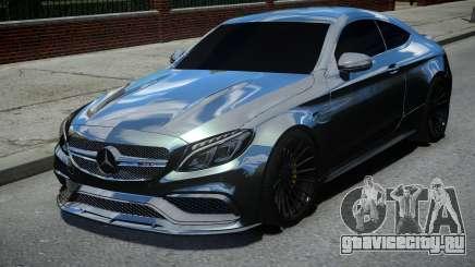 Mercedes-Benz C63 AMG Black для GTA 4
