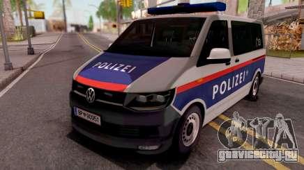 Volkswagen Transporter T6 Osterreich Polizei для GTA San Andreas