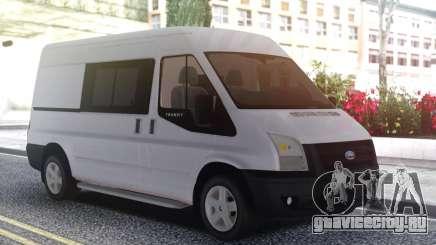 Ford Transit White для GTA San Andreas