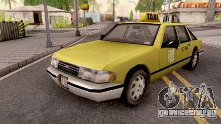 Taxi from GTA 3 для GTA San Andreas