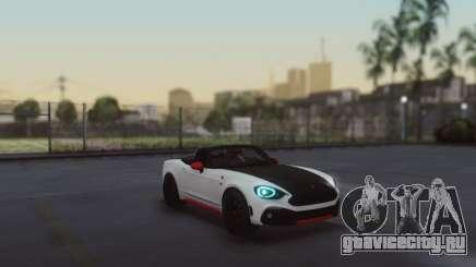 Fiat 124 Spider для GTA San Andreas