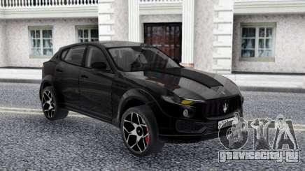 Maserati Levante Novitec Crossover для GTA San Andreas