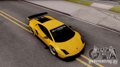 Lamborghini Gallardo LP570 2011 Liberty Walk для GTA San Andreas