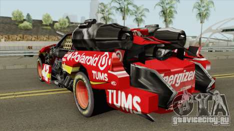 Leadfoot Vehicle для GTA San Andreas