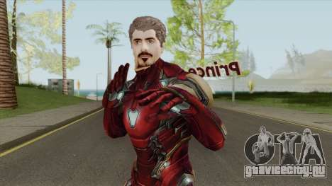 Tony Stark Skin V2 для GTA San Andreas