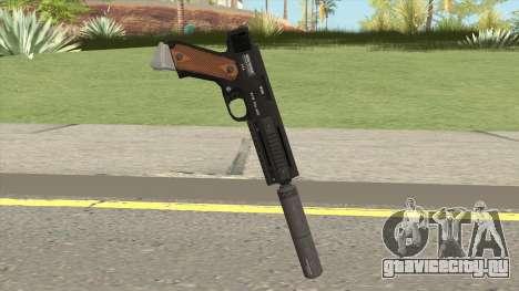 AP Pistol Silenced GTA V для GTA San Andreas
