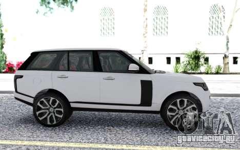 2018 Land Rover Range Rover Autobiography для GTA San Andreas