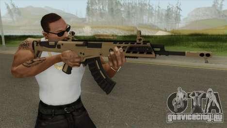 Warface AK-Alfa Gold (Without Grip) для GTA San Andreas
