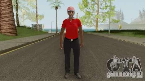 GTA Online Skin V3 (Restaurant Employees) для GTA San Andreas