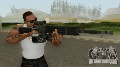 C7 Assault Rifle CMAG для GTA San Andreas