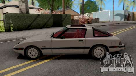 Mazda RX-7 GSL-SE (USDM) 1985 HQLM для GTA San Andreas