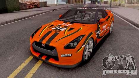 Nissan GT-R R35 для GTA San Andreas