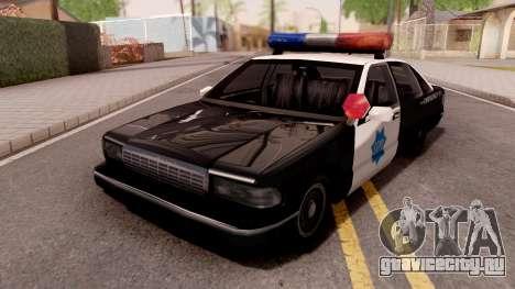SFPD Premier для GTA San Andreas