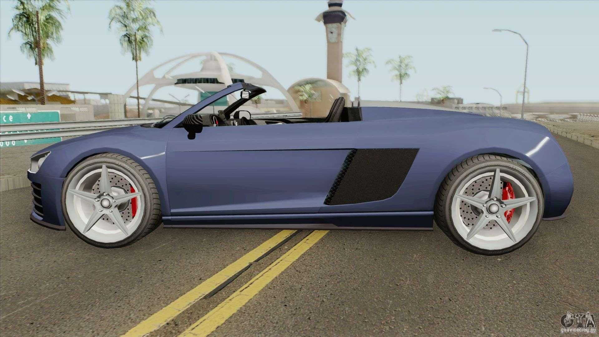 9F Cabrio V1 GTA V для GTA San Andreas