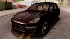 Porsche Cayenne Turbo S Black для GTA San Andreas