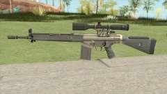 CS-GO Alpha G3SG1 для GTA San Andreas