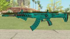 Warface AK-Alfa Absolute (With Grip) для GTA San Andreas