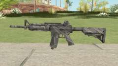 Warface M4A1 (Winter) для GTA San Andreas