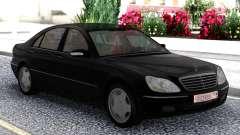 Mercedes-Benz S600 W220 Black для GTA San Andreas