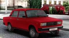 ВАЗ 2105 Седан Красный для GTA San Andreas