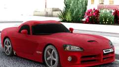 Dodge Viper  Red SRT-10 для GTA San Andreas