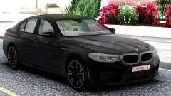 BMW M5 F90 Sedan Black для GTA San Andreas