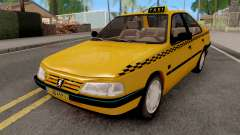 Peugeot 405 GLX Taxi для GTA San Andreas