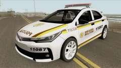 Toyota Corolla 2017 Brigada Militar для GTA San Andreas