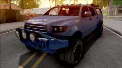 GTA V Vapid Contender Blue для GTA San Andreas