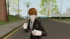 Light Yagami Skin V2 (Death Note) для GTA San Andreas