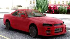 Nissan Skyline R-34 Red для GTA San Andreas