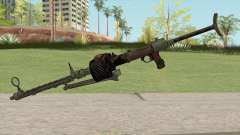COD WW2 - MG-15 Anti-Aircraft MG (Extended) для GTA San Andreas