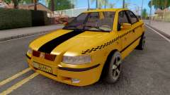 Ikco Samand Taxi LX для GTA San Andreas