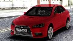 Mitsubishi Red Lancer 10 для GTA San Andreas