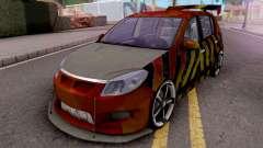 Dacia Sandero Modified для GTA San Andreas