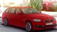 BMW 530D Touring Red для GTA San Andreas