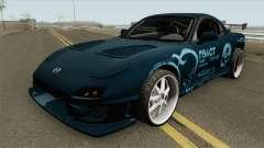Mazda RX-7 FD3S (R3ACT Team Sessions) для GTA San Andreas