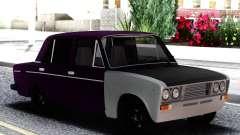 ВАЗ 2106 Баклажан с белым для GTA San Andreas