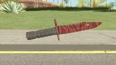 CS:GO M9 Bayonet (Slaughter) для GTA San Andreas
