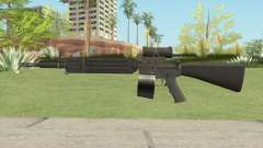 C7 Assault Rifle CMAG для GTA San Andreas